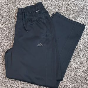 Adidas Mens Black Athletic Sweatpants SZ.XL